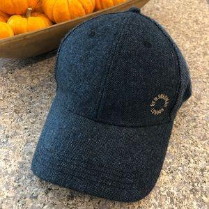Ben Sherman London Blue Wool & Polyester Cap OSFA